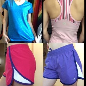 SET Sporty Tops & Shorts Bundle